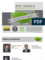 CoStar Webinar Current Trends in Green 20110621