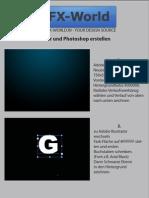 3D Text in Illustrator und Photoshop