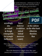 Transitional Words and Adverbial Conjunctions