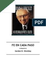 Fe en Cada Paso - Biografia de Gordon b. Hinckley