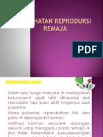 Kesehatan Reproduksi Remaja Wanita