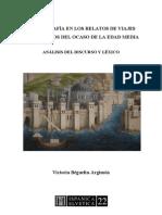 geografía en los relatos de viaje - índice