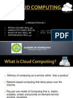 Cloud Computing Presentation (AOT)