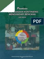 BNPB 2011 Panduan Perencanaan Kontijensi