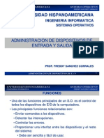 04 Sistemas Operativos - E-S