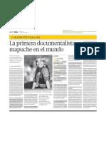 Jeanette Paillan. La Primera Documentalista Mapuche