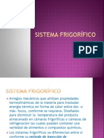 SISTEMA FRIGORÍFICO