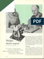 Metalworking - Plans - Midget Steam Engine