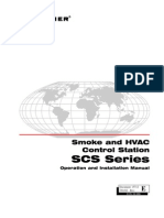 Smoke and HVAC Control Station SCS Series