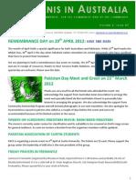 Pakistanis in Australia Vol2 Issue 7