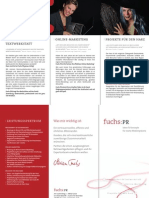 Fuchs PR Flyer