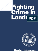 Boris Johnson 2012 Crime Manifesto
