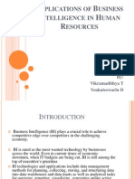 Applications of BI in HR