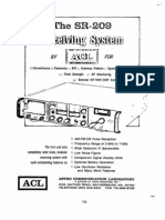 ACL SR-209 VHF Receiver Brochure