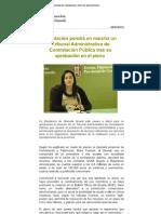 Tribunal de Recursos Contractuales de la Diputación de Granada.