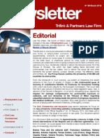 Newsletter T&P N°56 Eng