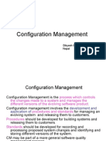 Configuration Management, Software Project Management