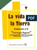 FISIOLOGÍA-VEGETAL-COLECCIÓN LA VIDA EN LA TIERRA Nº4