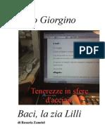Caro Giorgini... Baci, La Zia Lilli Completo Di Copertina