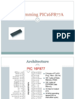 Lecture12-Using PIC Micro Controller 16F877A