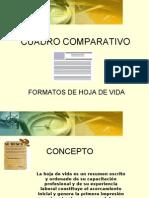 Cuadro Comparativo - Formatos de Hv