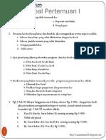 Latihan Soal Akuntansi Menengah Smt2