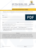 AOL-Yogathon Registration Form Individual