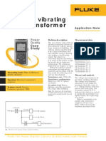 Fluke Power Quality Analyzers - The Vibrating Transformer Power Quality Case Study Using the Fluke 43b Application Note