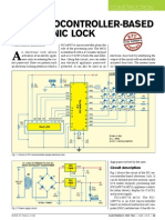 Pic Based Electronic Lock