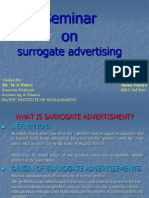 surrogate advertising and its impact