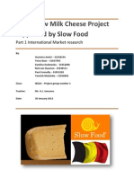 Dutch Raw Milk Cheese Project Group 1