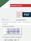 Google University - Sorting Algorithm