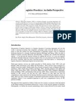 3PL Practices in India