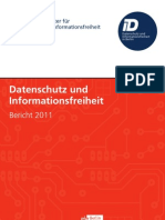 Jahresbericht Berliner Datenschutzbeauftragter 11 Inhalt Web