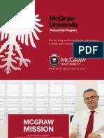McGraw University – Prospectus | Accredited Online University