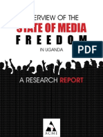 Research Report on State of Media Freedom in Uganda