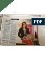 Interview Hedwyg van Groenendaal - AD Weekend 31 maart