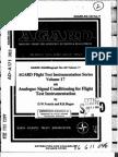 Analjgue Signal Conditioning for Flight Test Instrumentation