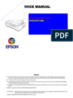 Epson FX-980 Service Manual