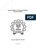 IIT-B Placement Report 2010-11
