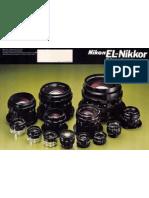 El Nikkor Brochure