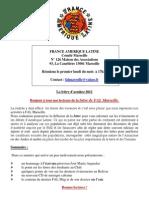 La Lettre de FAL Marseille Octobre 2011