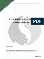 excipientes e adjuvantes farmacotécnicos