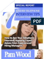 7 Insider Telephone Interview Tips