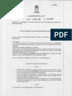 LB Richtlijnen Benoeming v Ministers