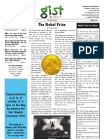 Gist Weekly Issue 3 - The Nobel Prize