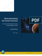 Rand Simberg - Homesteading the Final Frontier