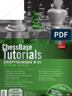 ChessBase Tutorials Band 1