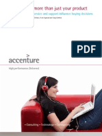 Accenture Its More Than Just Your Product