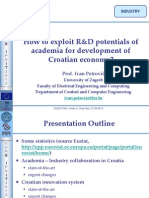 4 - Ivan Petrović - How to exploit R&D potentials of academia for development of Croatian economy